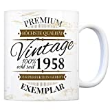 trendaffe - Vintage Tasse seit 1958 - Premium Exemplar - Zur Perfektion gereift -