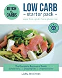 Front page of the low carb starter Pack cookbook