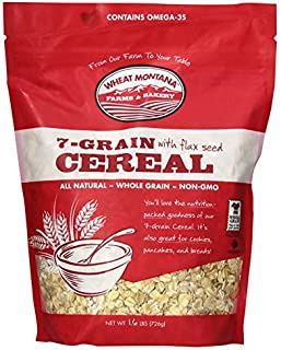 Wheat Montana Farms & Bakery, 7 Grain with Flax Seed Cereal, 1.6 Pound