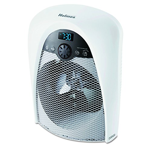 Holmes Digital Bathroom Heater Fan with Pre-Heat Timer and...