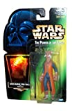 1997 Hasbro The Power of Force 4-1/2 Inch Tall Action Figure - Trickster SAELT-MARAE (Yak Face) with Battle Staff