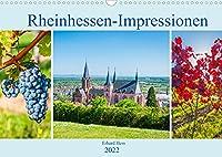 Rheinhessen-Impressionen (Wandkalender 2022 DIN A3 quer): Sehenswuerdigkeiten Rheinhessens und seine landschaftliche Schoenheit in Bildern (Monatskalender, 14 Seiten )