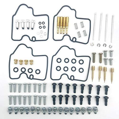 DENGZH El Kit de reparación/reconstrucción del carburad Kit de reconstrucción de reparación de carburador de carbohidratos para Yamaha YZF R6 600 1999-2002