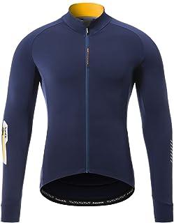 【サンティック】Santic メンズ サイクルジャージ サイクルジャケット ウインドブレーカー サイクルウェア 自転車 秋冬 長袖 裏起毛 防風