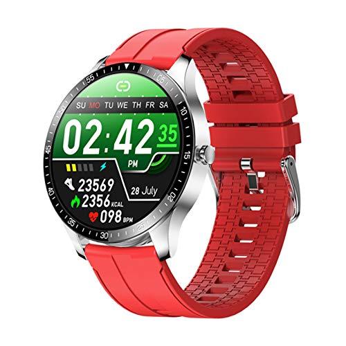 YDZ Monitor De Sueño con Ritmo Cardíaco S80 IP68 Hombres Inteligentes Impermeables Hombres Fitness Fitness Ejercicio 2021 Smartwatch para iOS Android,E