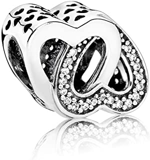PANDORA Entwined Love Charm 791880CZ