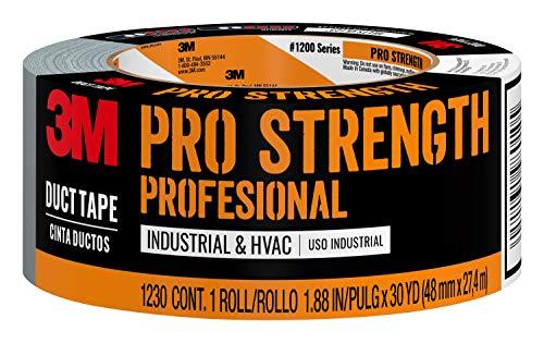 Scotch Painter's Tape 051131980105 3M Pro Strength - Cinta adhesiva adhesiva (1230-C, 1.88 pulgadas por 30 yardas, 1000 pulgadas)