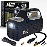 JACO SmartPro 2.0 AC/DC Digital Tire Inflator - Advanced Portable Air Compressor Pump - 100 PSI