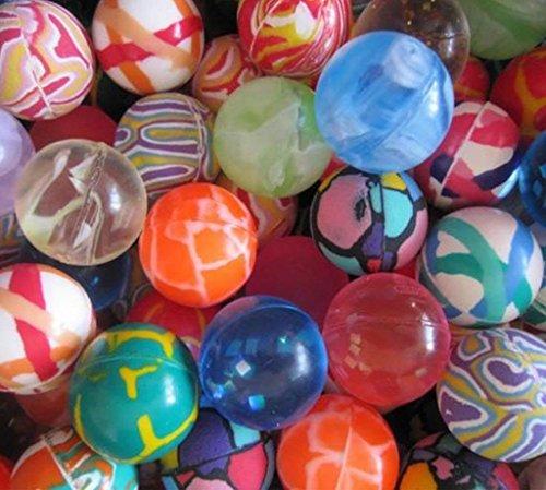 32mm 12pc Couleurs assorties Bouncy Jet Bouncy Balls Party Bag Filler pour sac de fête cadeau