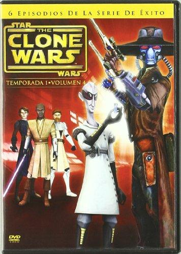 Star Wars: The Clone Wars Temporada 1 Volumen 4 [DVD]