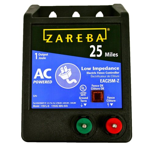 Zareba EAC25MZ 25 Miles AC Low Impedance Electric...