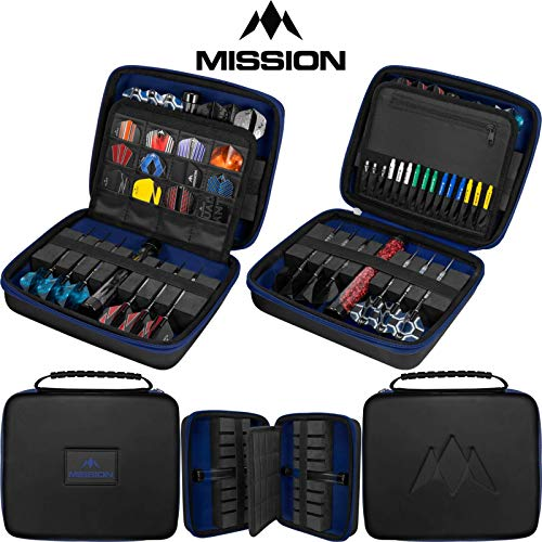 Mission Freedom Luxor Dartkoffer, Blau