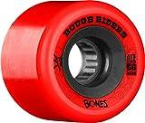 Bones Wheels Rough Riders 59mm Red Skateboard Wheels