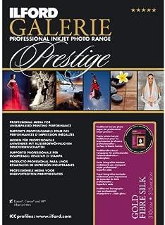 Ilford Galerie Prestige Gold Fibre Silk, 13 x 19 Inches, 10 Sheet Pack
