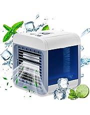 冷風機 ミニエアコンファン 卓上扇風機 USB給電式 風量3段階 冷却 加湿 空気清浄 熱中症対策 風量調整 長時間連続動作 省エネ 小型