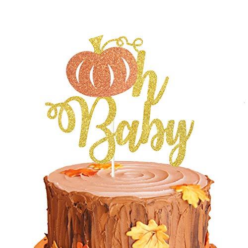 Pumpkin Oh Baby Cake Topper, Little Pumpkin Cake Topper, Fall Gender...