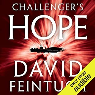 Challenger's Hope audiobook cover art