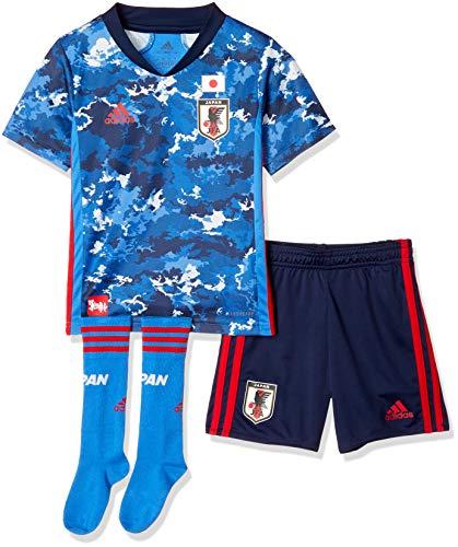 [アディダス] ユニフォーム キッズ サッカー日本代表2020ユニホーム ミニキット GEM15 トゥルーブルー(ED7354) 日本 J120 (日本サイズ120 相当)