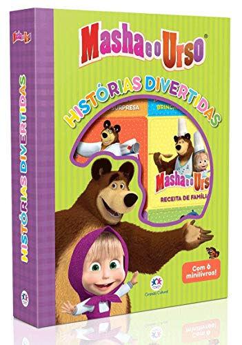 Masha e o Urso - Histórias divertidas: Com 6 mini livros!