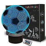 Lámpara de fútbol óptica 3D