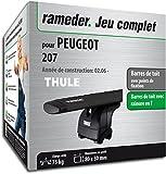 Rameder Pack Barres de Toit WingBar Evo pour Peugeot 207/207+ (118392-05522-3-FR)