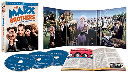 The Marx Brothers Silver Screen Collection (Blu-Ray) $14.99 via Amazon