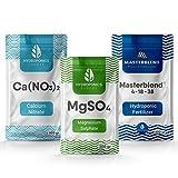 Masterblend 4-18-38 hidroponia fertilizante set hidropónico nutrientes completo (1. 5 kg)