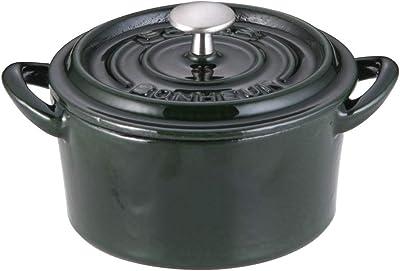 イシガキ産業 ボン・ボネール ココット 9㎝ マジョリカグリーン 鉄鋳物 中国 ABVB801