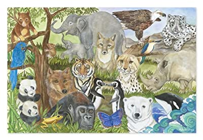 Melissa & Doug 48pc Endangered Species Floor Puzzle