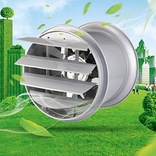 Extractor De Baño, Ventilador de extractor de baño, ventilador de extractor de cocina 10 pulgadas ventilador ventilador con persianas Potente bajo ruido nacional