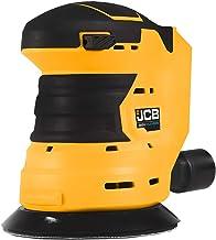 "JCB Tools - JCB 20V 5"" Cordless Random Orbit Sander Power Tool - Hook and Loop Compatible - No Battery - For Fast Removal ..."