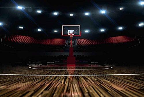 Fototapete Poster-Deko Basketball 3 x 2,70 m Deko + Bild XXL Qualität HD Scenolia