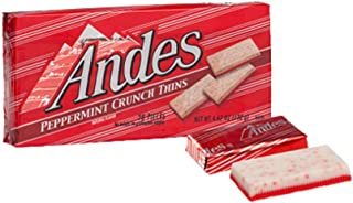Andes Peppermint Crunch Thins 4.67 ounce Box (Case of 12)
