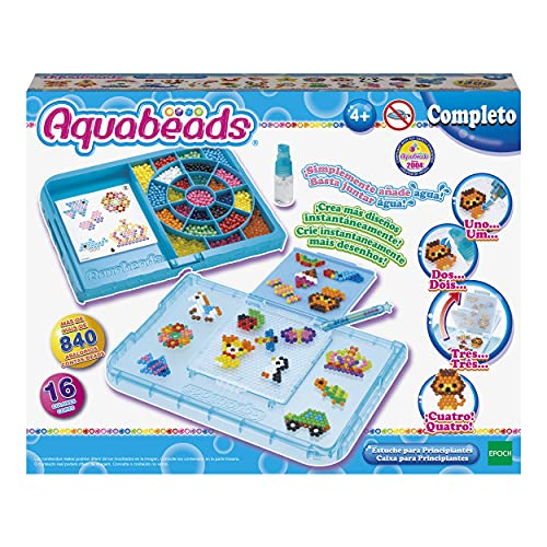 Aquabeads-Para Imaginar Estuche para Principiantes, Multicolor, única (EPOCH 31380) , color/modelo...