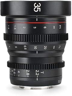 Meike 35mm T2.2 Manual Focus Cinema Prime Lens (MFT Mount)