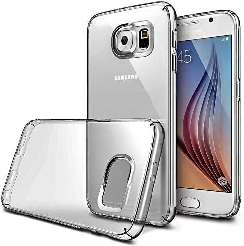 Vultic Galaxy S6 Case Soft Slim TPU Crystal Clear Transparent Protective Back Cover for Samsung product image