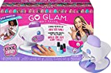 Cool Maker, GO Glam Nail Stamper Deluxe Salon with Dryer for Manicures and Pedicures with 3 Bonus Patterns and 2 Bonus Nail Polishes, Amazon Exclusive