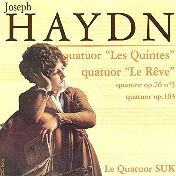 Haydn: Quatuors, Op. 103, 50 & 76