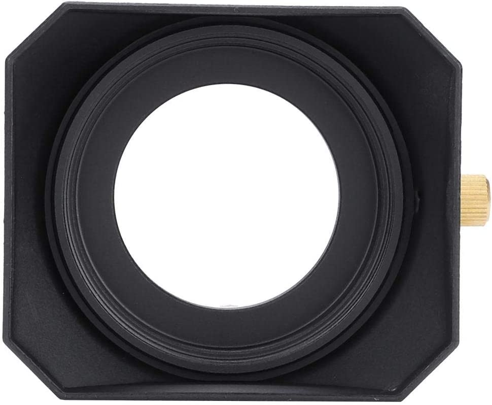 zhuolong Lens Direct Max 52% OFF stock discount Hood Square Shade Digit Accessory for DV Camcorder