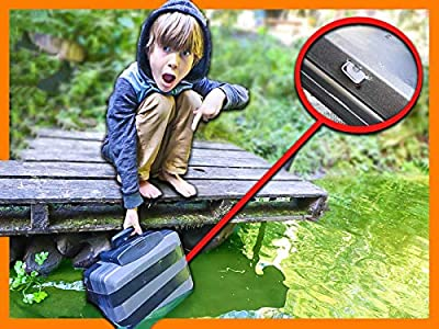Planting Secret Hidden Tracking Device in Decoy Safe (Spy Gadgets in Real Life) from