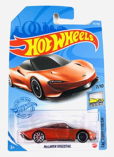 Hot Wheels 2021 - McLaren Speedtail - Orange - 7/10 - Factory Fresh