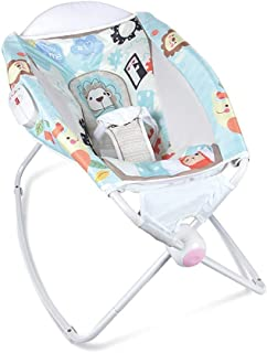Atten Compact Baby Swing,Infant Bouncers and Rockers Swings Chair,Newborn Sleeping Rocking Cradle,Multifunctional Childre...