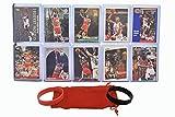 Michael Jordan MJ (10) Assorted Basketball Cards Bundle - Chicago Bulls Trading Cards - MVP # 23