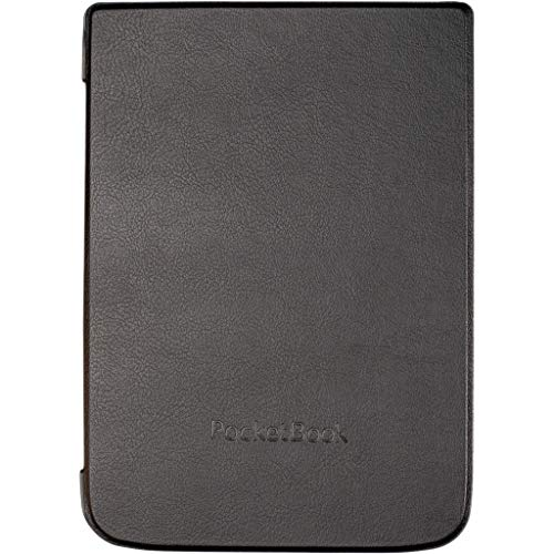 Pocketbook WPUC-740-S-BK Schutzhülle für E-Book-Reader, Schwarz, 19,8cm (7,8Zoll), Mikrofaser/Polyurethan, für InkPad3