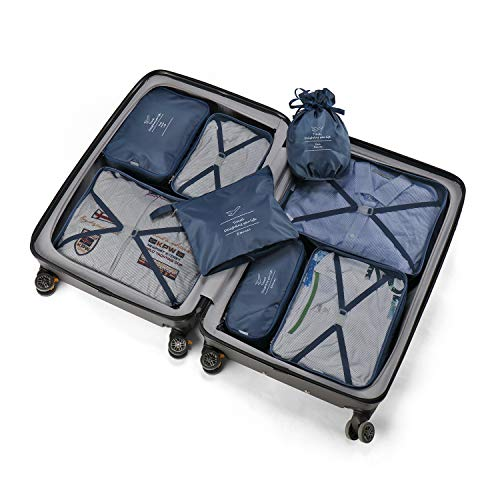 Organizador para Maletas Packing Cubes 8 Juegos/7 Colores...