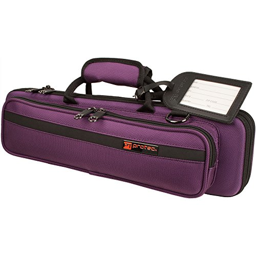 Protec PB308PR - Funda para flauta travesera, color violeta