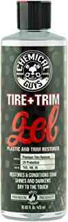 Chemical Guys TVD_108_16 Tire and Trim Gel for Plastic and Rubber, Restore and Renew Faded Tires, Trim, Bumpers and Rubber...