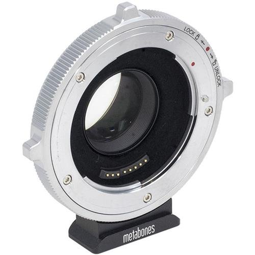 Metabones Canon EF Lens to Micro Four Thirds Camera Adapter, T CINE Speed Booster XL 0.64x Magnification (Fifth Generation)