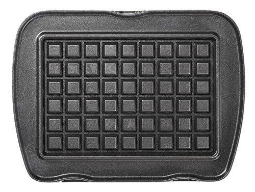 lagrange Jeu de plaque Gaufres Liégeoises pour Gaufrier Premium Noir