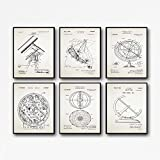 Astronomie Poster Set Astronomie Patentdrucke Astronomie